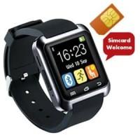 COGNOS Smartwatch U8 Delta GSM SIM CARD-HITAM