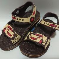 Sepatu sandal anak laki-laki Cars sport merk yitai