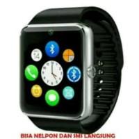 Smart Watch Jam Tangan Hp Gt08 Sim & Memory Card Kamera lebih bagus