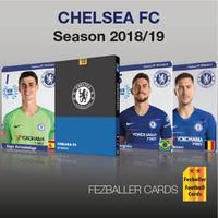 kartu bola Fezballer Card CHELSEA FC Premier League season 2018/2019