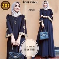 Jual Gamis muslim hitam dress muslim hitam dress pesta murah abaya turkey Murah