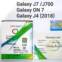 Baterai Battery Batre Samsung Galaxy J7 J700 ON7 J4 DoublePower
