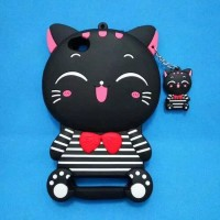 CASE 4D MIMI CAT KUCING HP XIAOMI REDMI 4A CASE 3D SOFT CASE KARTUN