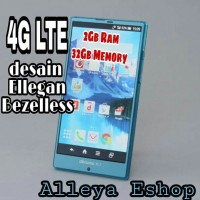 Hp Android 4G Mewah Bezelless Sharp Aquos 5,5inch Ram 2Gb 32Gb Murah