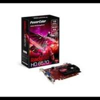 New ! Vga Card Powercolor Pci-E Radeon Hd 6570 1Gb Ddr3 128Bit