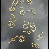 Stock Terbatas Anting Mas Perhiasan Emas 24Karat Untuk Anak Anak Bayi