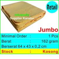 Kanebo Polos Jumbo | Aion - Plas Chamois - Microfiber - Lap Mobil |