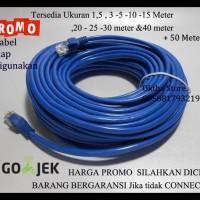Harga Terbaik Kabel Lan Utp 20M Rj45 Cat 5E Cable 20 Meter Terpasang