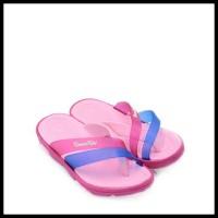 Kanan Kiri Sandal Jepit Anak Perempuan B 7003 - 30, Merah Muda