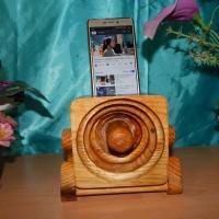 Speaker aktif / speaker kayu / speaker tanpa listrik