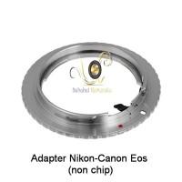 Adapter Lensa Nikon ke Body Canon Eos (non chip) Berkualitas