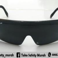 Kacamata Safety / Kacamata Gerinda Goggles Hitam Black