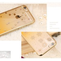 New Remax Diamond Snowflake Series TPU Protective Soft Case for iPhone