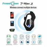 FreedConn T-Max S Bluetooth Intercom Helm 6 Rider 4.1 New Version 1 Km