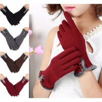 Sarung Tangan Winter Touch Screen Pita / Musim Dingin Best Seller!