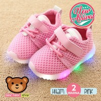 Sepatu Anak LED Sneaker Sepatu Bayi