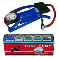 Foot Pump Pompa Kaki Injak Angin Mobil Motor Tekanan Tinggi Air High P