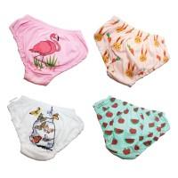 Jobel Girl's Underwear - Flamingo Edition