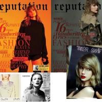 CD Taylor Swift Special Package Reputation, 1989 bonus Folder
