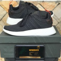 2b550f799 Jual ADIDAS NMD R2 HARVEST BLACK CORE BNIB 100% AUTHENTIC HARGA IDIOT  ((