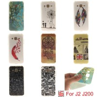 one Soft Case Cover Bag Samsung Galaxy J2 J200 J 200 2 Tiger Feather52