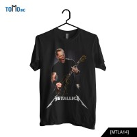 Metallica James Hetfield Original Gildan Size S,M,L,XL,XXL
