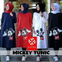mickey tunik muslim/atasan blouse murah/atasan kaos/grosir baju hijab