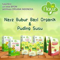 NAYZ Bubur Bayi organik Puding Susu Bayi MPASI NAYS