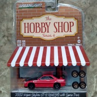 Greenlight nissan skyline gtr bnr34 with spare tyres