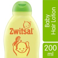 Zwitsal baby hair lotion with aloe vera,kemiri 200ml/minyak rambut