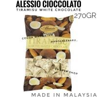 Coklat Alessio Import Malaysia 270gr Chocolate Tiramisu Almond