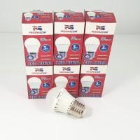 PAKET HEMAT 6pcs Lampu Bohlam LED Bulb 3w hemat energi 3 watt E27