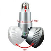 SPY CAM,HIDDEN CAMERA,IP CAMERA WIFI MODEL LAMPU FULL HD 2MP FLEXIBEL