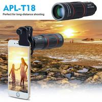 APEXEL 18X Teleskop Zoom Lensa untuk Iphone Samsung Ponsel Pintar Univ
