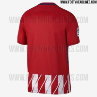 #Jersey Bola Jersey Atletico Madrid Home 2017/2018 Grade Ori Official