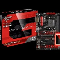MAINBOARD AMD ASROCK FATAL1TY AB350 GAMING K4 DDR4 AM4