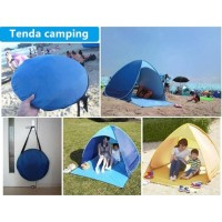 PROMO AGUSTUS - 1kg Tenda Camping Buka Otomatis Tenda Beach shade