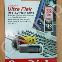 SanDisk Ultra Flair USB 3.0 150MB/s Flashdisk komputer computer murah