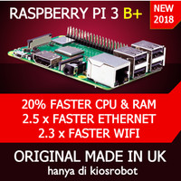 Raspberry Pi 3 Model B 1GB RAM Quad Core 1,2 G komputer computer murah