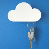 Magnetic Key Holder Cloud Shaped, Gantungan Kunci Magnet Awan Stick