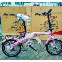 Sepeda Anak Lipat Phoenix 16 Inchi Bkn BMX United Polygon Murah Gan