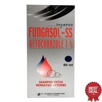 Fungasol SS Ketoconazole 1% Shampoo Untuk Mengatasi Ketombe Shampo