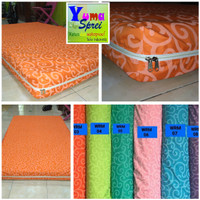 Sprei resleting waterproof uk 160x200x20 cover bed