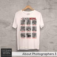OceanSeven Kaos Distro About Photographers 3 Baju Pria T-Shirt Wanita