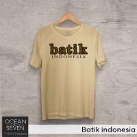 OCEANSEVEN.ID Kaos Distro Batik indonesia Baju Pria T-Shirt Wanita