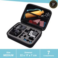 Tas Camera Medium Size Kamera Action Sport Cam / Xiaomi Yi / GoPro