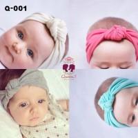Bandana Bayi Anak Turban Bando Warna-Warni   Baby Headband 9