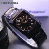 Jam tangan Untuk Wanita HUSH PUPPIES Kotak Variasi warna Tali - Hitam