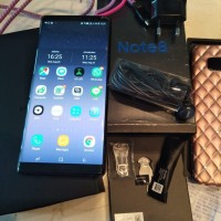 Samsung Note 8 Duos Second 64Gb / Black / seken / Garansi resmi