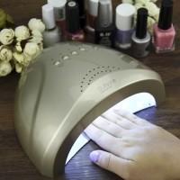 NEW LED UV Nail Dryer Lampu Pengering Cat Kuku Kutek Gel 48W